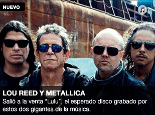 Lou Reed y Metallica