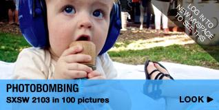 Photobombing SXSW 2103 in 100 pictures