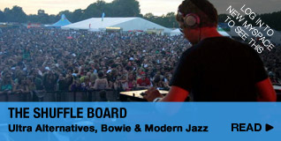 The Shuffle Board: Ultra Alternatives, Bowie &amp; Modern Jazz