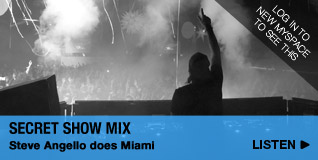Secret Show Mix: Steve Angello does Miami
