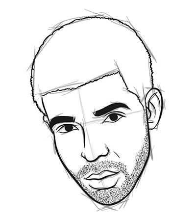 Graphic Content: How to Draw Drake in 8 Easy Steps | Myspace
