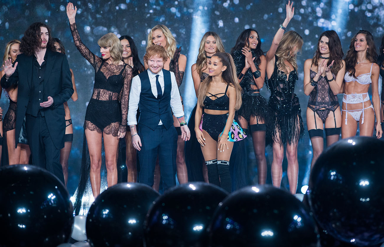 2014 Victoria's Secret Fashion Show Ed Sheeran Photo by Eamonn McCormack