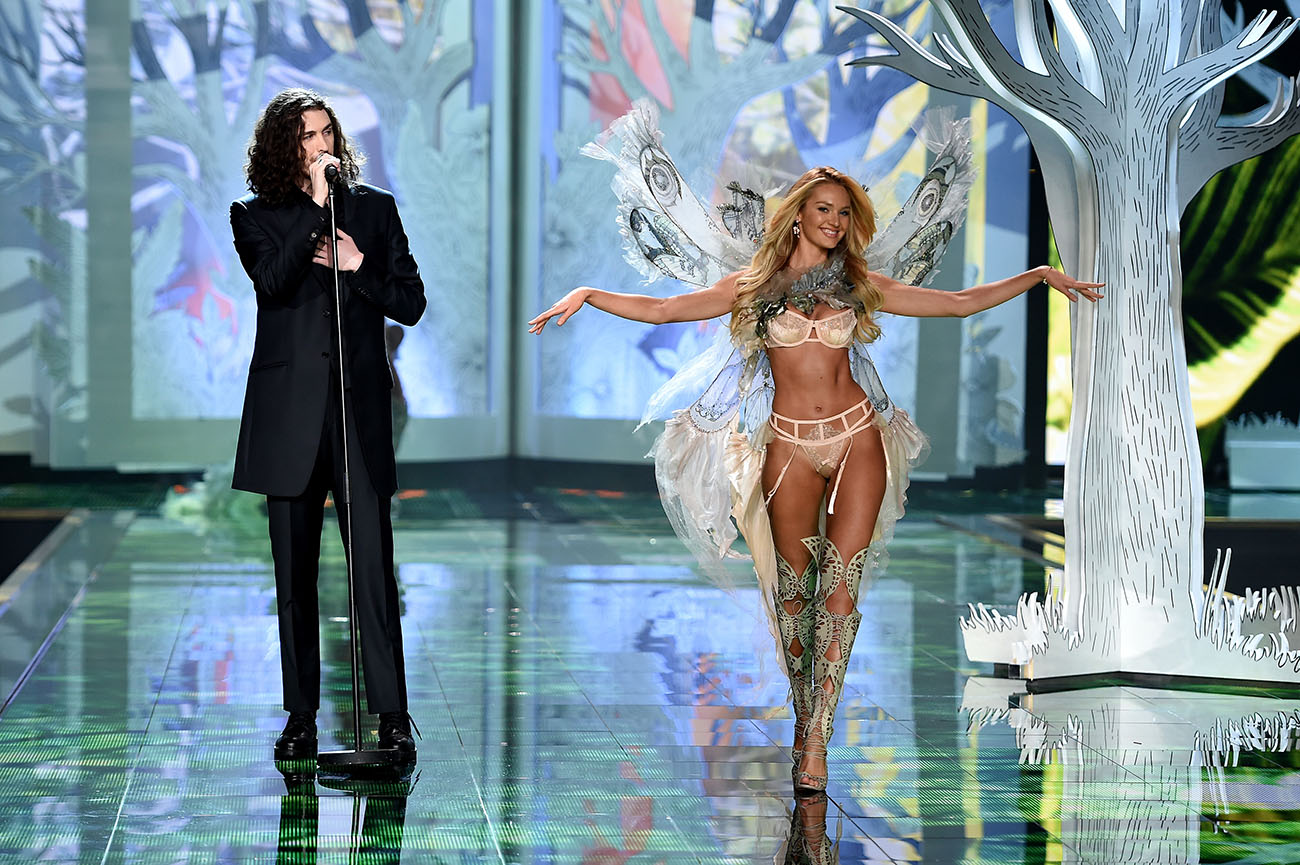 2014 Victoria's Secret Fashion Show Hozier for Victoria s Secret