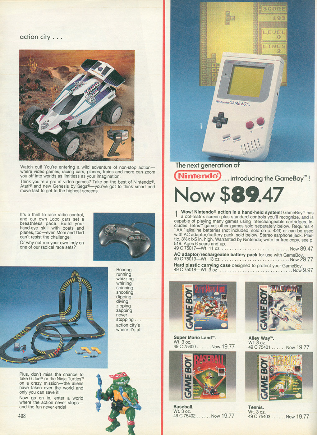 15 Top Toys on Your Christmas List … From the 1989 Sears Wish Book ...