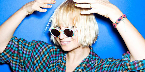 Sia Breathes into a Jar For Charity