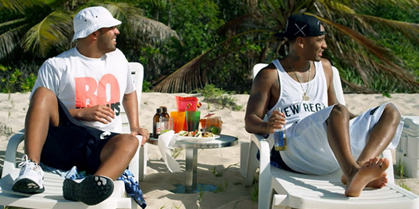 """Drake and P. Reign Let Loose in """"Dnf"""" Video"""