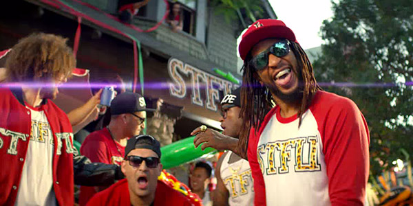 Lil Jon, Red Foo Can't Even In Video,
