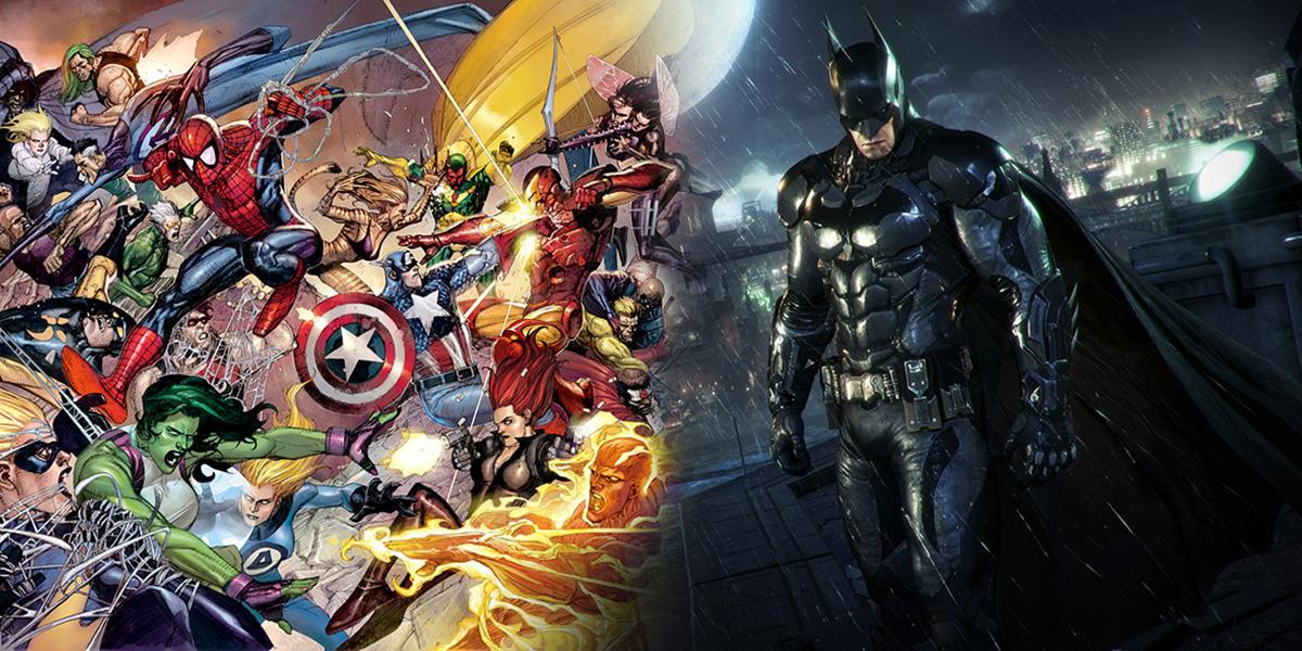 Batman vs. Marvel Comics: Which One's the Better Septuagenarian?