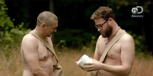 James Franco, Seth Rogen to Appear On 'Naked and Afraid'