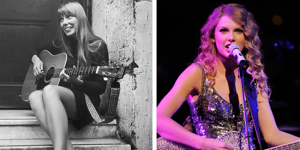 Joni Mitchell Put a Stop to a Biopic Starring Taylor Swift