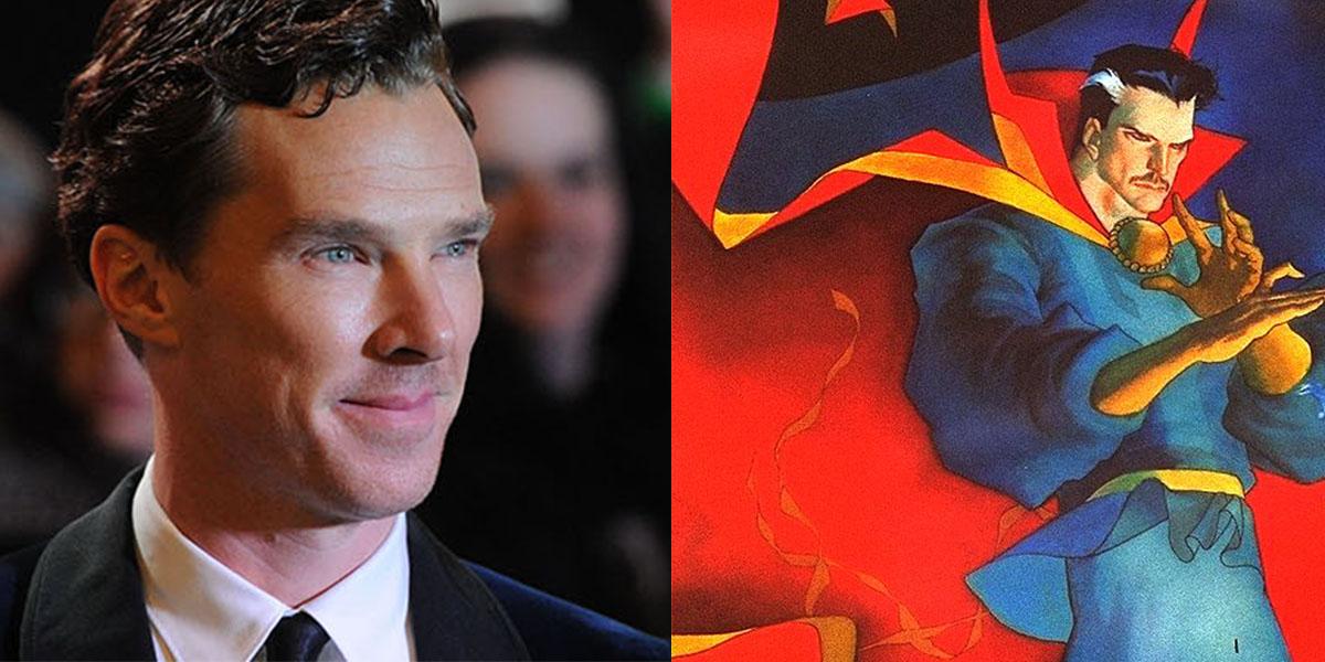 Benedict Cumberbatch to Star in 'Doctor Strange'