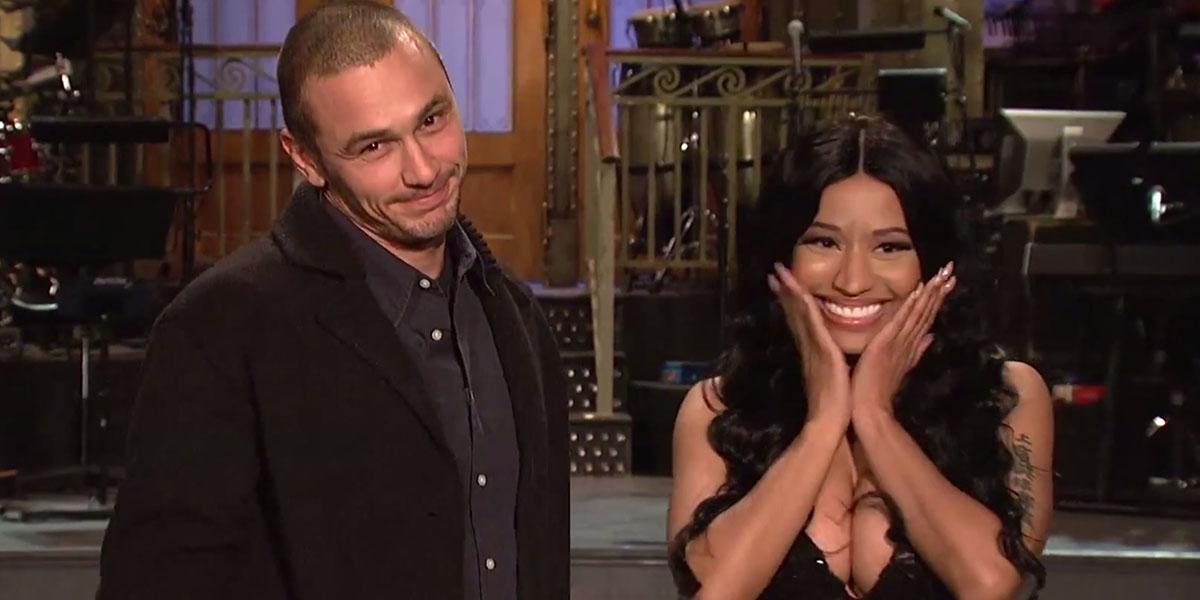 James Franco and Nicki Minaj Are Besties In 'SNL' Promo
