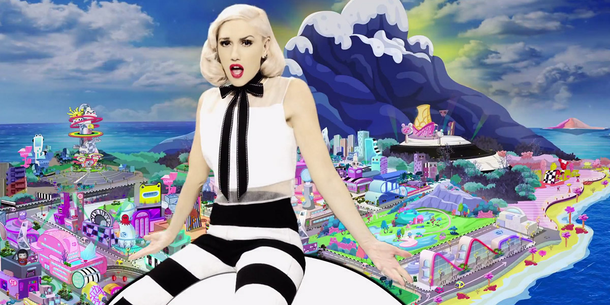 Gwen Stefani Releases Emoji-Inspired Video For