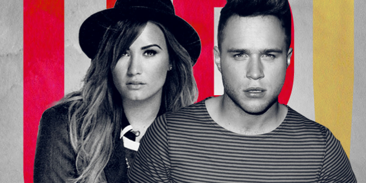 """Olly Murs and Demi Lovato Fight For Love in """"Up"""" Music Video"""