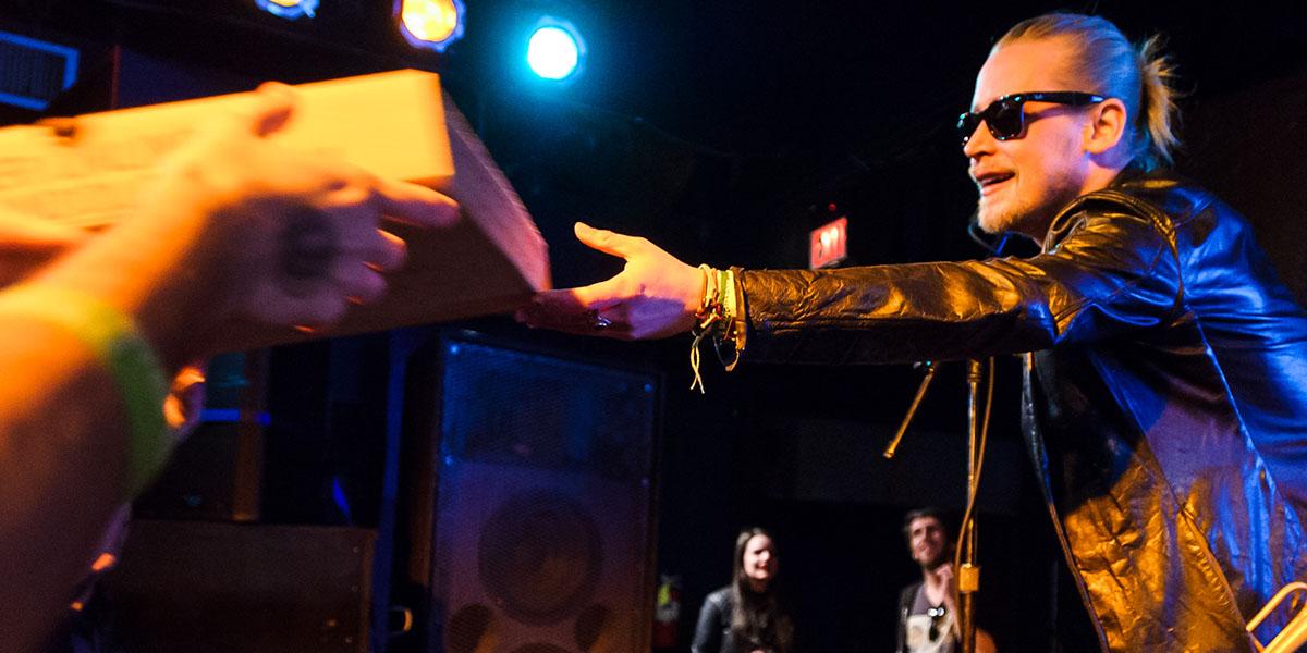 Macaulay Culkin's Pizza-Themed Velvet Underground Cover Band Made a Music Video