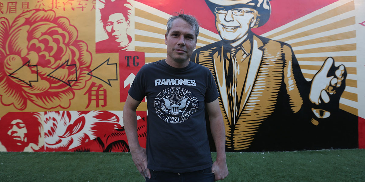 16 Arrests Later, Shepard Fairey Talks Collaborations & Music From Art Basel