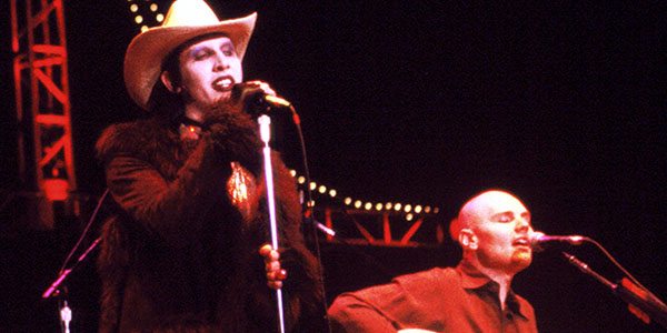 Marilyn Manson Joins the Smashing Pumpkins Onstage For