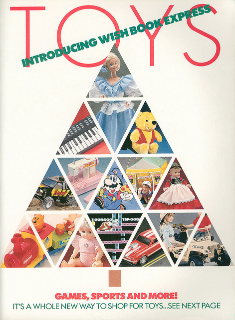 Christmas Catalogs.15 Top Toys On Your Christmas List From The 1989 Sears