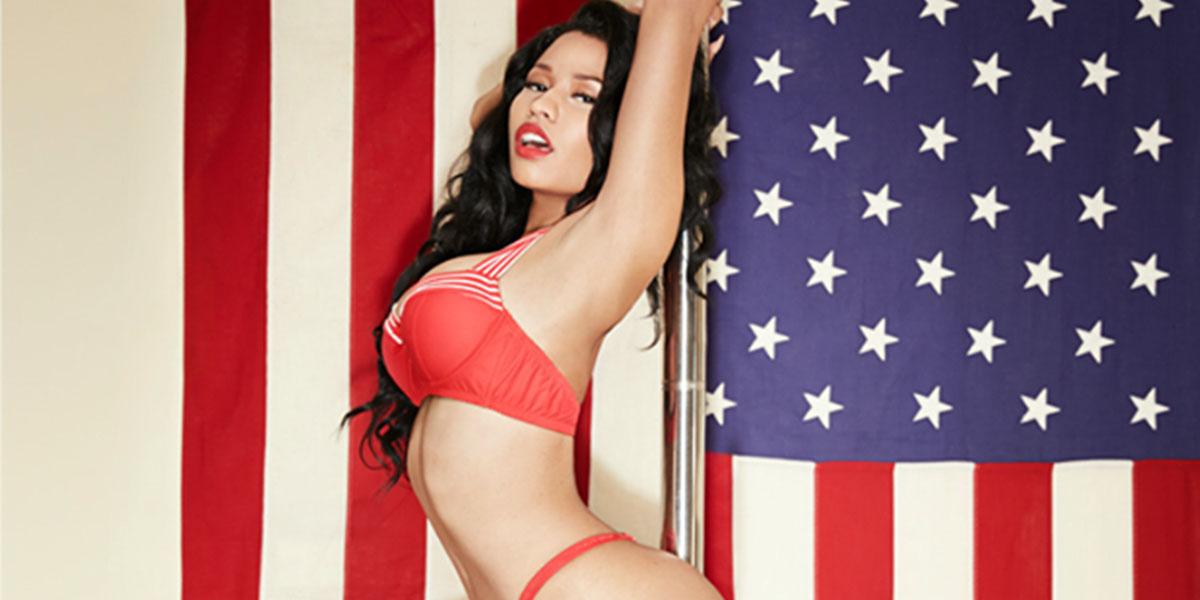 NSFW PHOTOS: Nicki Minaj Calendar Drops Jaws All Year 'Round