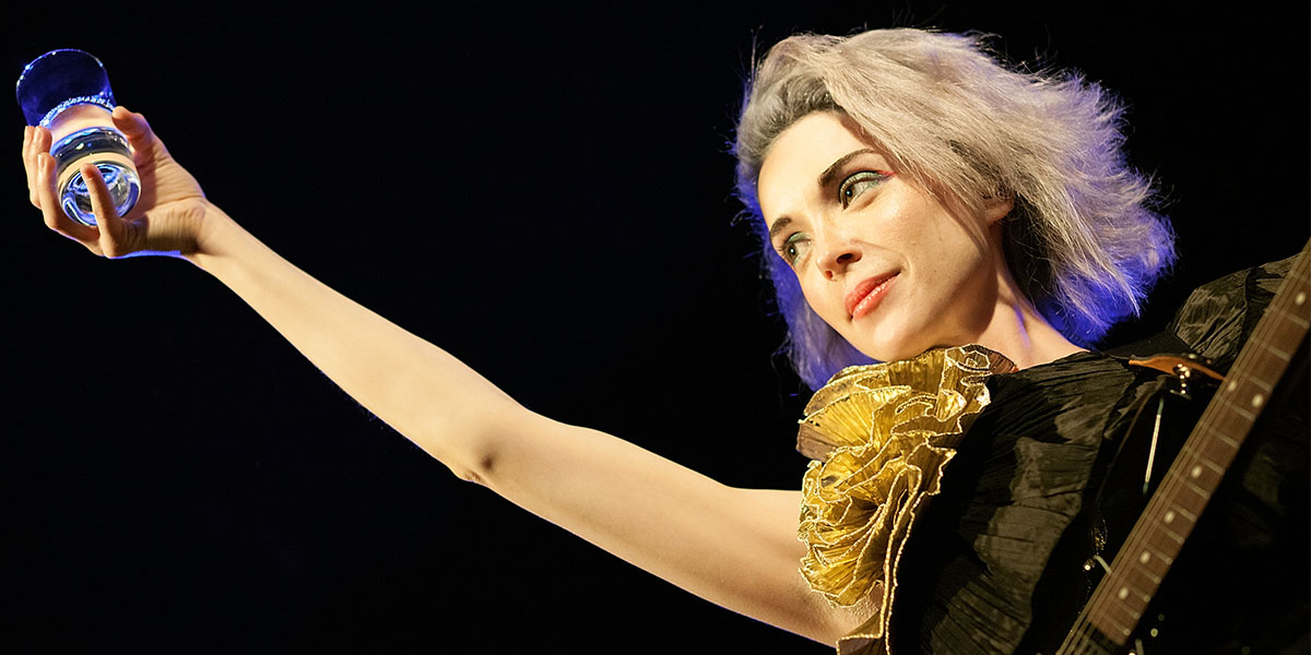 Watch St. Vincent's Video For