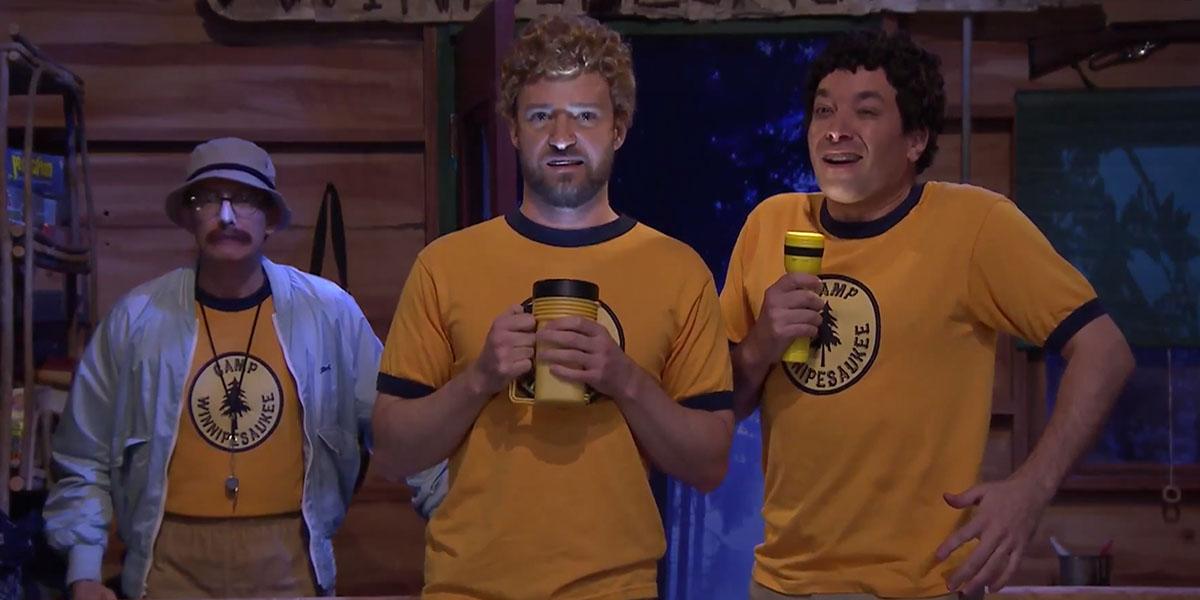 Watch Justin Timberlake and Jimmy Fallon Sing Third Eye Blind at Camp