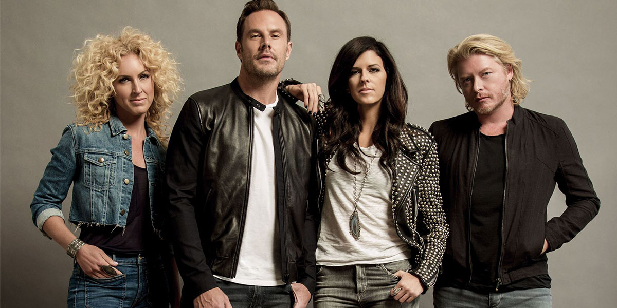 Five Minutes to the Stage With Little Big Town