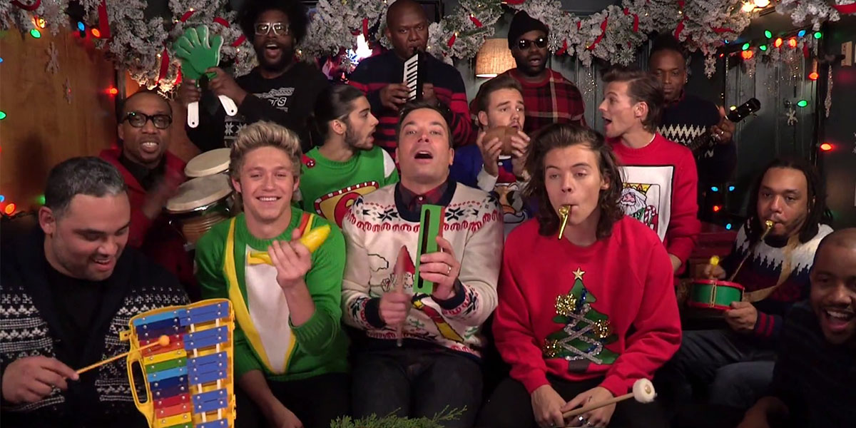 One Direction, Fallon, the Roots Do