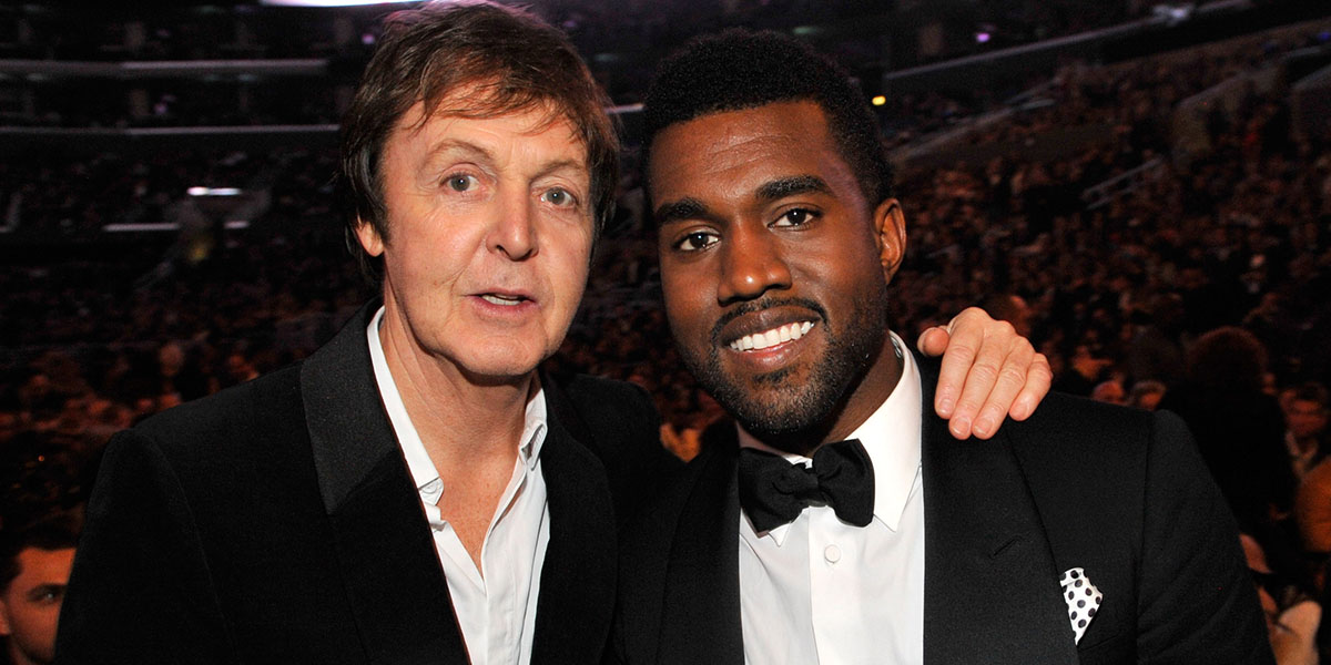 Kanye West and Paul McCartney Team Up For Single