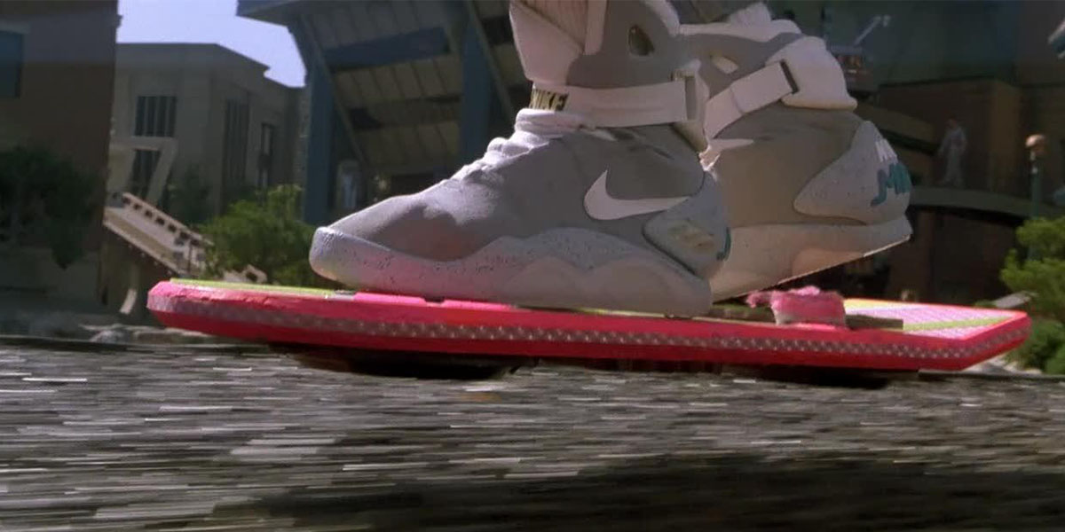 Nike Working On 'Back to the Future 2' Self-Tying Shoe