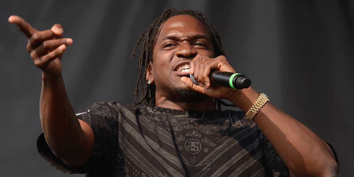 Pusha T Grinds Out