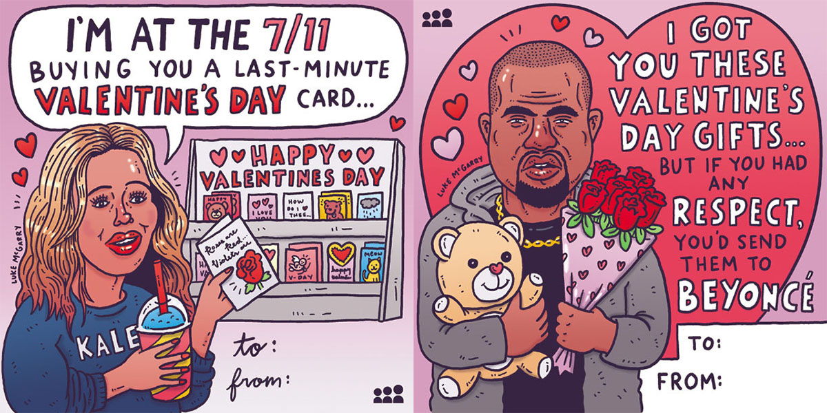 Print Out These Valentine's Day Cards From Kanye, Beyoncé and Morrissey
